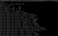 VPS/Linux网速测试脚本100mb.test