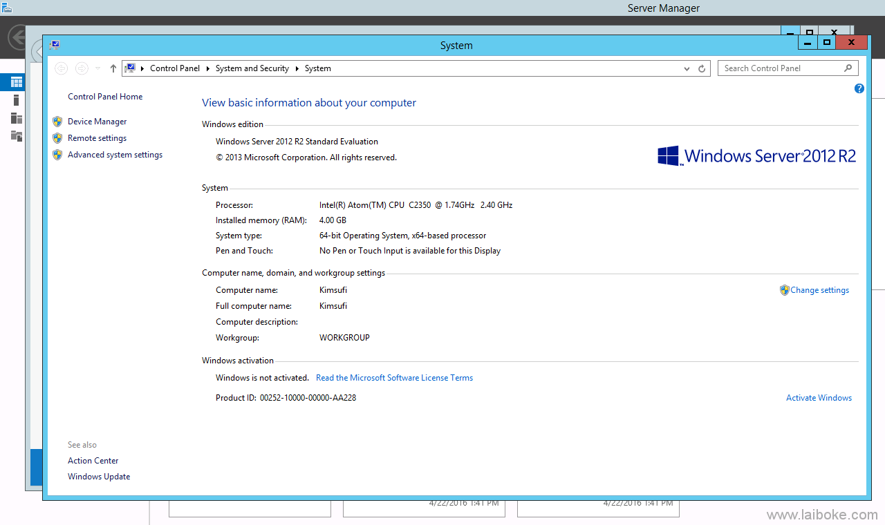 Online.net SC 2016 SATA版本成功安装Windows并运行